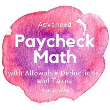 Advanced Paycheck Math For High School Students Dental Insurance