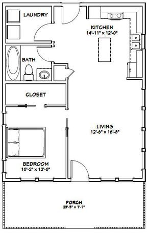 Pdf House Plans Garage Plans Shed Plans Tiny House Floor Plans Small House Floor Plans 1 Bedroom House Plans