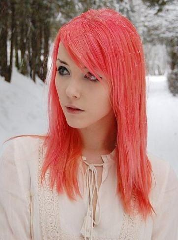 Hair Pink Red Manic Panic 36 Ideas Flamingo Pink Hair Coral