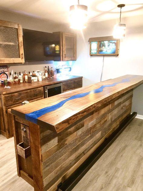 Basement Bar Designs, Home, Home Bar Plans, Railing, Remodel, Bars For Home, Dining Table Bases, Basement Remodeling, Home Bar Designs
