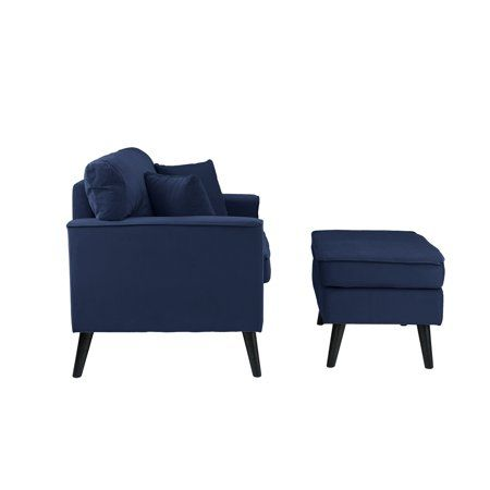 Home Foot Rest Ottoman Accent Chairs