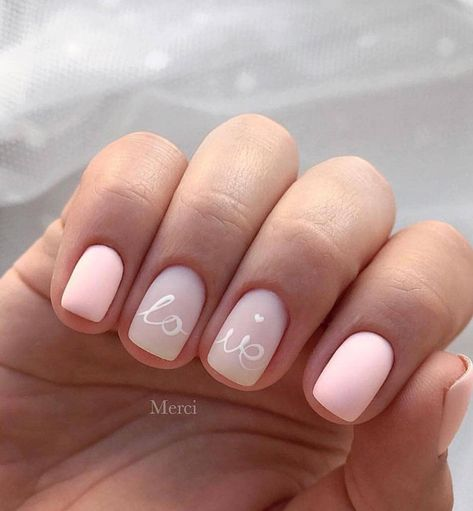 60+ Acrylic Square Nails Design And Color Ideas For Short Nails— White Black & Pink - Page 4 of 63 - Latest Fashion Trends For Woman