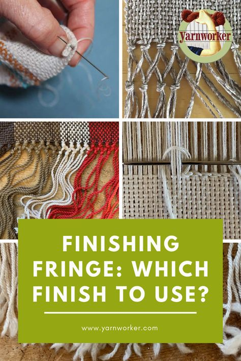 New Totally Free weaving patterns loom Popular When to Use Which Finish – Yarnworker – Know-how for the rigid heddle loom Weaving Loom Diy, Paper Weaving, Weaving Art, Weaving Patterns, Tapestry Weaving, Hand Weaving, Loom Weaving Projects, Weaving Designs, Stitch Patterns