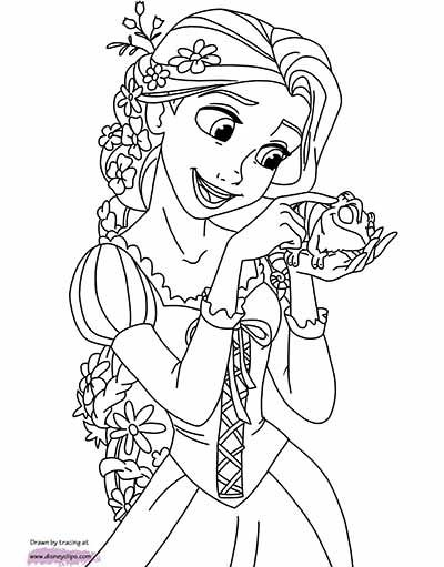 170 Free Tangled Coloring Pages June 2020 Rapunzel Coloring Pages Disney Coloring Sheets Rapunzel Coloring Pages Disney Coloring Pages