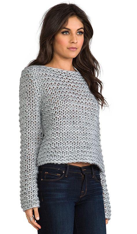 Compra Cheap Monday Cher Sweater en Grey Melange en REVOLVE. Envío y devoluciones de 2-3 días gratis y 30 días de garantía de igualación de precio.