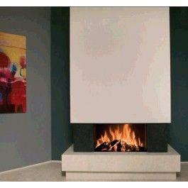 De Kal-fire Heat Pure 85, is niet alleen een bijzonder goed doordachte haard met ingebouwde intelligentie; het is ook de fraaiste #houthaard die verkrijgbaar is. Wanneer u de liftdeur opent, verandert de luchtstroom in de haard direct door het tweeweg-klepsysteem. De haard brengt nu warme lucht de kamer in, om daarmee de verbruikte lucht uit de kamer te compenseren. #Fireplace #Fireplaces #Houtkachel #Kampen #Interieur