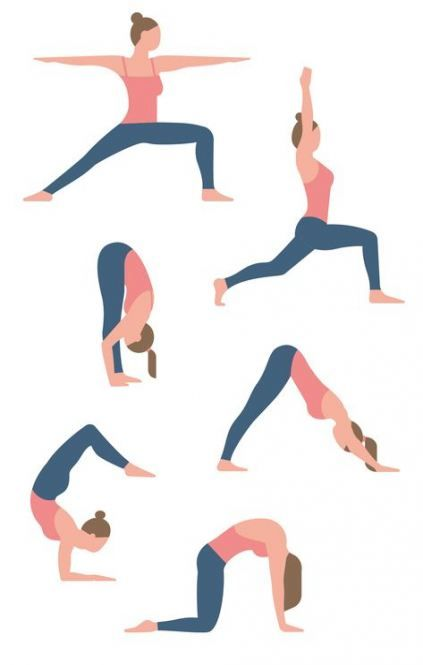 Yoga Poses Illustration Beauty 50 Best Ideas Yoga Illustration Cool Yoga Poses Yoga Poses