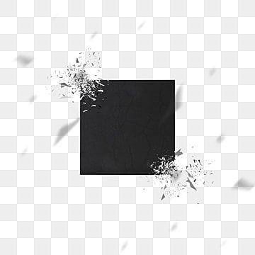 Black Splash Ink Broken Style Squares Black Splash Ink Broken Png Transparent Clipart Image And Psd File For Free Download Black Splash Splash Square Art