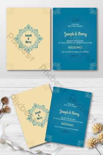 Floral Totem Simple Style Wedding Invitation Card Template Ai Free Download Pikbest In 2020 Wedding Invitation Cards Wedding Invitation Card Template Wedding Invitations