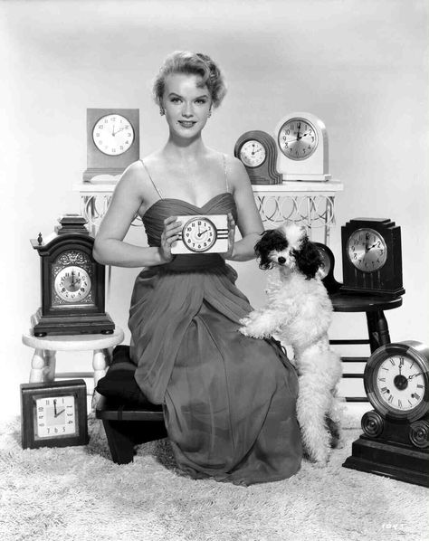What time is it?  Anne Francis