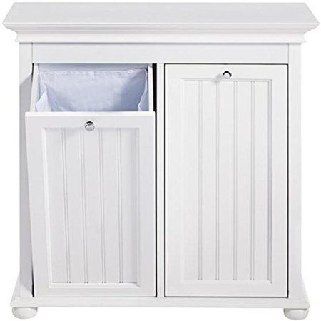 Home In 2020 Household Essentials Wood Hamper White Finish