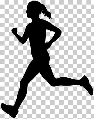 Running Silhouette Running Woman Silhouette Png Clipart Silhouette Png Woman Silhouette Running Silhouette