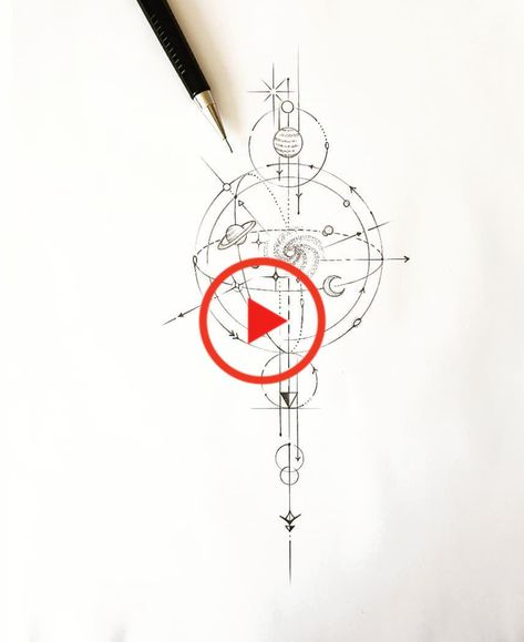 # # Planet geometric design tatuyiseuteu Naru Planet Tattoo # # # geometric tattoos tattoo designs tattoo design # # # Geometry Geometry Tattoo #planettattoo #tattoostyle #tattoo #tattooed #tattoo