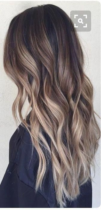 Clip In Extensions Balayage Ombre Color Dark Brown #2 To Medium Brown #6 And Ash... #Ash #Balayage #brown #Clip #color #Dark #extensions #medium #Ombre