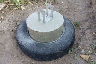 Бетон в шинах цементно бетонная смесь плотность