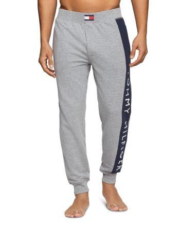 Tommy Hilfiger Logo Striped Jogger Pants Men Bloomingdale S Mens Outfits Track Pants Mens Latest Clothes For Men