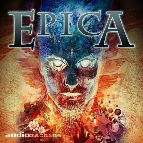 Epica By Audiomachine (Cd-2012. Audiomachine)-Free Shipping