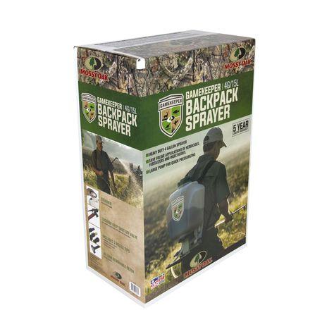 Mossy Oak Gamekeeper 4 Gallon Backpack Sprayer For Food Plots Food Plot New Kids Toys Liquid Fertilizer