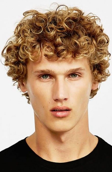 Curly Mens Hairstyle In 2020 Men S Curly Hairstyles Curly Hair Styles Medium Hair Styles