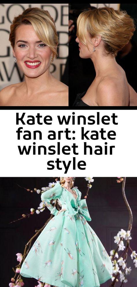 Kate winslet fan art: kate winslet hair style