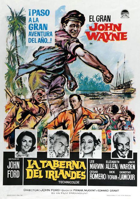 Foto De 1963 La Taberna Del Irlandés Donovans Reef Tt0057007 Google Fotos Carteles De Cine Carteleras De Cine Portadas De Películas