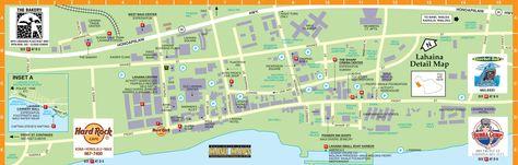 Maui Vacation Map Hawaii Vacations Ali Resorts Click Here For