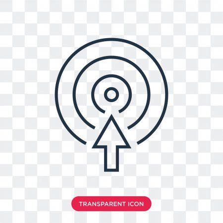 Red Simple Arrow Target Png Image Clip Art Shapes Kindergarten Arrow Logo