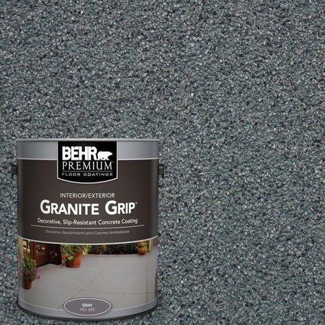 Behr Premium 1 Gal Gg 02 Stone Valley Decorative Flat Interior