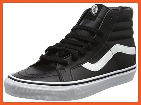 7912b157b3 Vans Unisex Sk8-Mid Reissue (Classic Tumbler) Blk TrWht Skate Shoe 7 Men US    8.5 Women US - Athletic shoes for women ( Amazon Partner-Link)