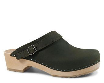Swedish Clogs Mens Clogs Leather Shoes For Men