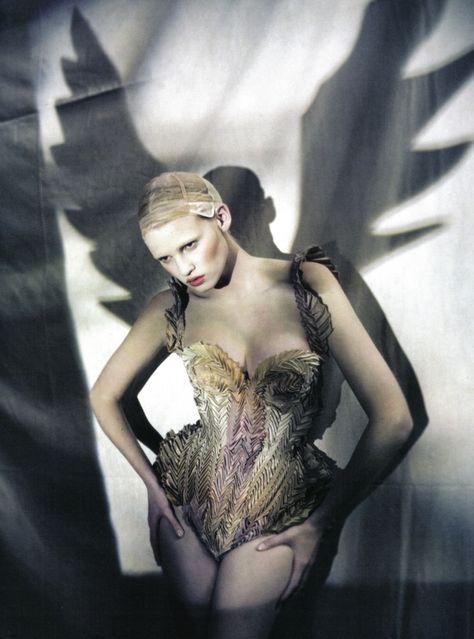 Lara Stone by Paolo Roversi