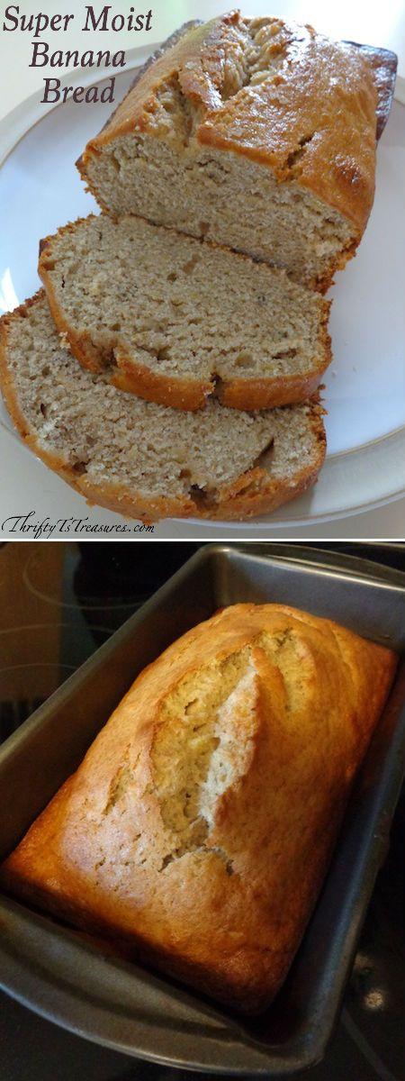 Healthy and Easy Banana Bread Recipe