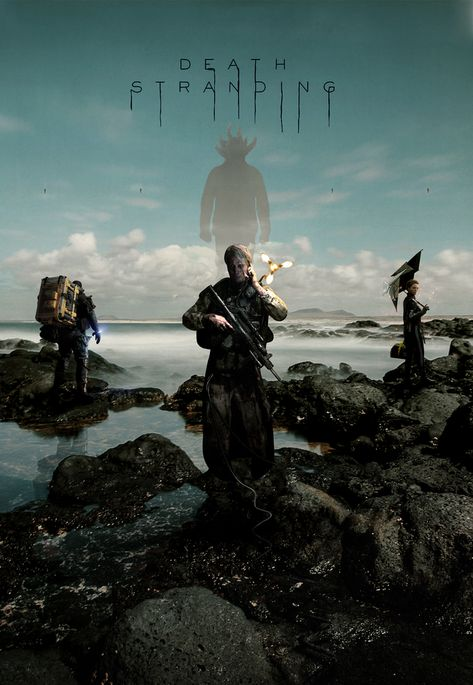 So I've finished the poster. What do you guys think ? : DeathStranding