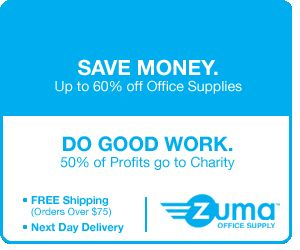 Zuma Office Supply Save Money Do Good Work
