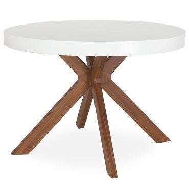 Table Ronde Extensible Myriade Blanc Pas Cher C Est Sur Conforama Fr Large Choix Prix Dis En 2020 Table Ronde Extensible Table Ronde Design Table A Manger Ronde