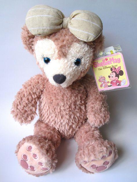 Tokyo Disneyland Disney Sea Bear Shellie May Plush 17inch New Duffy | eBay