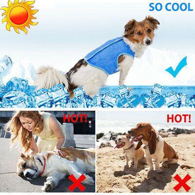 Details About Pet Dog Cooling Vest Lightweightjacket Uv Protection