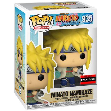 Funko POP! Naruto Shippuden - Minato Namikaze with Rasengan Vinyl Figure #935 AAA Anime Exclusive [READ DESCRIPTION]