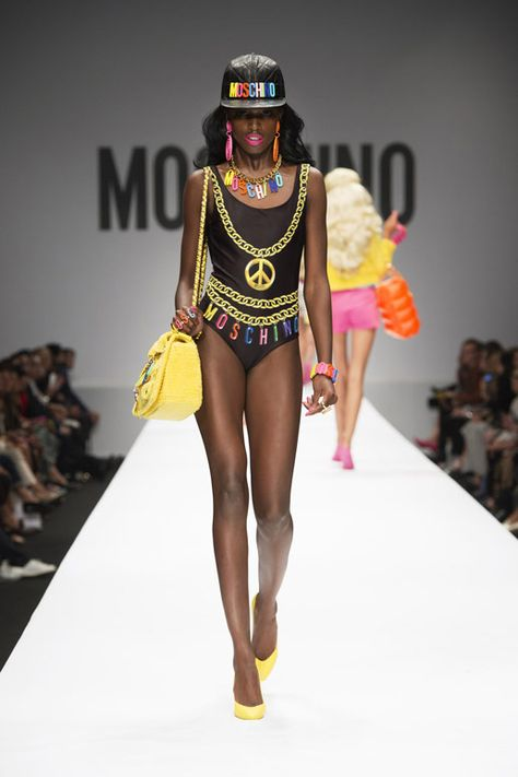 Moschino summer 2015 - inspired by Barbie