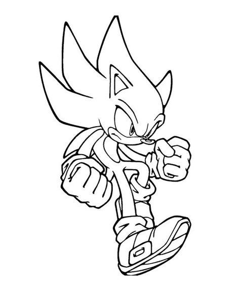 Sonic Le Film Coloriages Gratuits Sonic Coloriage Gratuit