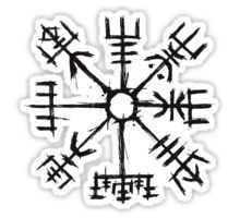Vegvisir the Symbol of Guidance and Protection also known as the runic compass or the Viking compass. Its an icelandic stave and ancient symbol.