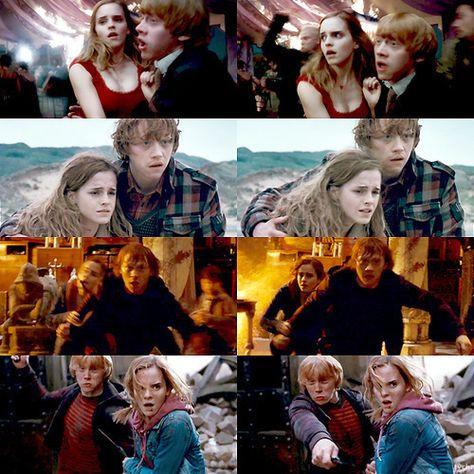 Harry Potter Fan Art: Ron/Hermione