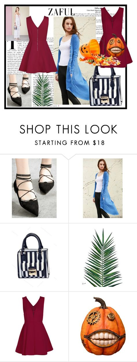 """""""Zaful-3"""" by nihada-niky ❤ liked on Polyvore featuring RED Valentino, Nika, Fantastic Craft, modern and zaful"""