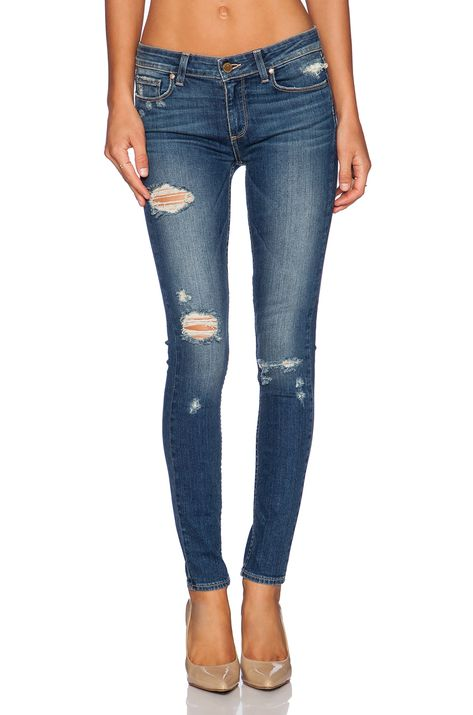 PAIGE Denim Verdugo in Danica Destructed - I like the wash, the distressing, the length, and the fit!
