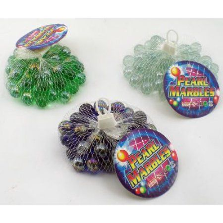 Real Glass Marbles One Bag Colors Will Vary Walmart Com Glass Marbles Inexpensive Toys Glass