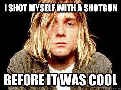 719718a2682279bd8b2d3b6636483d75 style grunge donald cobain kurt cobain memes,Rip Kurt Cobain Meme