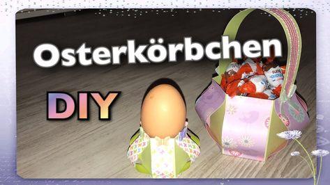 Photo of Osterkorb, Osterkörbchen basteln, Ostern basteln mit Papier, DIY, Tutorial, How to