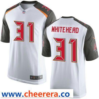 95ab2df07 Men s Tampa Bay Buccaneers  31 Jordan Whitehead White Road Stitched NFL Nike  Game Jersey