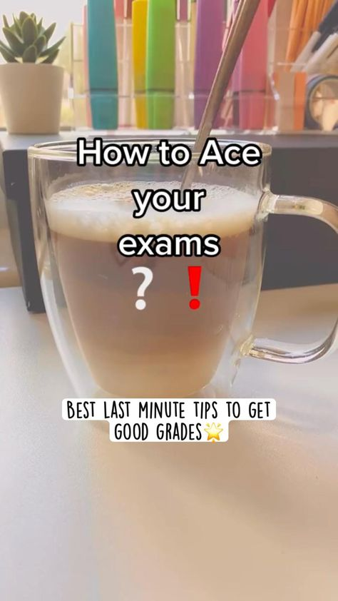 Best last minute tips to get good grades🌟   work smarter and get A 's in all of your subjects