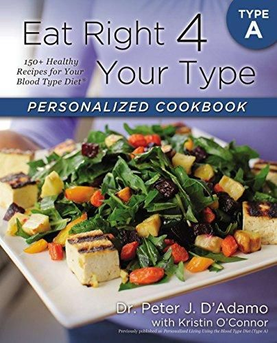 Pdf Download Eat Right 4 Your Type Personalized Cookbook Type A